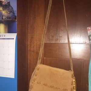 Handbags - Boho leather crossbody bag